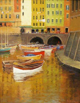 European Scenes - Cinque Terre 30x24  $4500