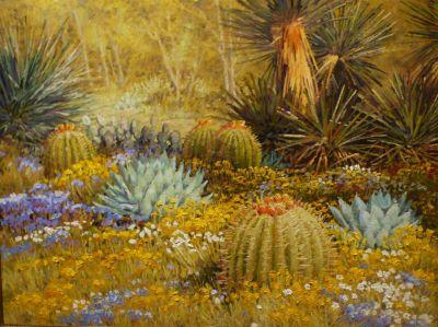 Desert Landscapes - Desert Botanical 30x40  $4500