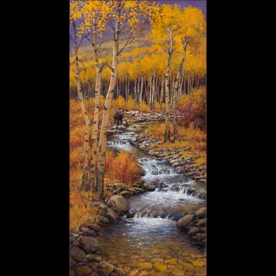 RECENT Works - Bear Creek 30x15 $4500