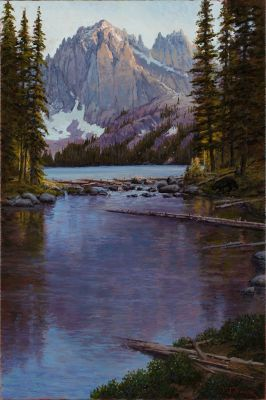 RECENT Works - Baron Lake 36x24  $5500
