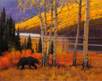 RECENT Works - Pallisades Creek 24x30 $4500