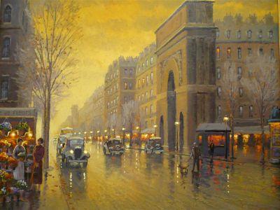 Street Scenes - Golden Light 24x30  $5200