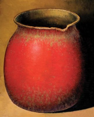 Clay Pots and Vessels - Hopi Pot 48x36  $6500 SOLD