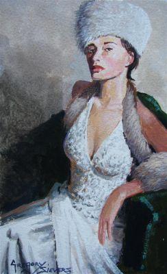 Watercolors - Katarina 9x7  $750