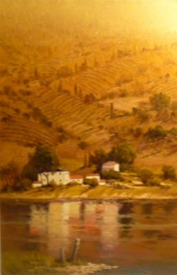 European Landscape - Italian reflection 36x24  $5500 SOLD