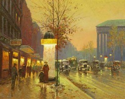 Street Scenes - La Belle Epoch 16x20  $3250