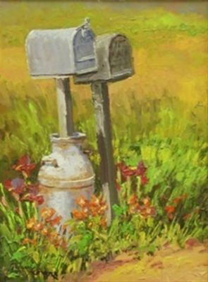 Western Landscapes - Message Center 16x12 $1950