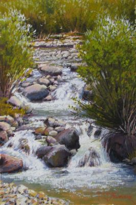 Watercolors - Mtn. Creek  6x10  Watercolor  $750