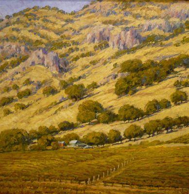 Western Landscapes - Napa Valley 30x30  $4500