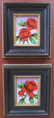 Impasto - Rose Grouping 8x10s 900 SOLD