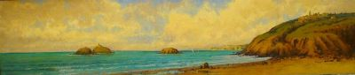 Sea Scapes - Mediterranean Sea Shore 12x48  $3900