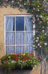 RECENT Works - Grandmas Window 30x24 $4500