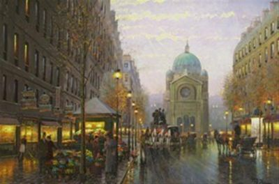 Street Scenes - St. agustine 40x60  $13500