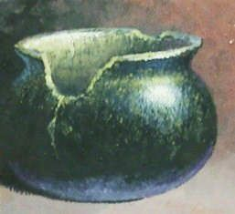 Clay Pots and Vessels - Small Ho Ho Kam Pot 8x8 $900