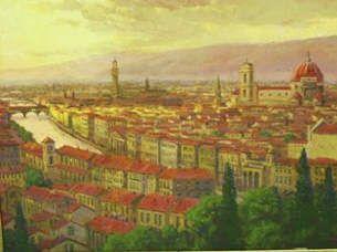European Scenes - Florence 36x48 $7500