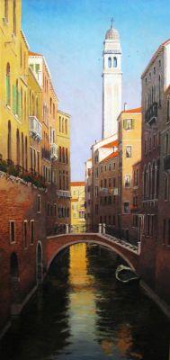 European Scenes - Venice 72x36 (Sold)