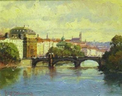 European Landscape - prague 8x10  $950