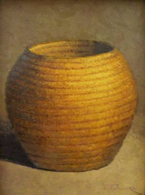Clay Pots and Vessels - wicker basket 20x16  $2500