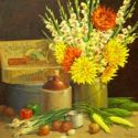 Still Life - Country Still life 30x30  $4500 SOLD