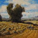 5x7 Paintings - A Hayin