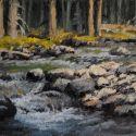 5x7 Paintings - West Camas