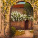 RECENT Works - Itallian Flowered Arch 30x40 $6500