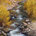 RECENT Works - Tumbling Water 36x24 $5500