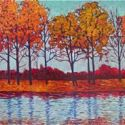 Contemporary Outdoor - Reflections 24x48 $2900