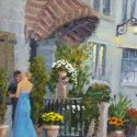 Street Scenes - Romantic Interlude 10x8 $ 950