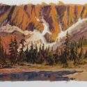 Watercolors - SawTooth Foothills  8x11  $775 (matted and framed