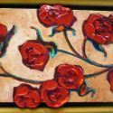Heavy Texture - Sculpted Roses 10x20 1500