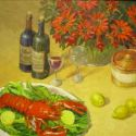 Still Life - Kitchen Setting 30x30 $4500