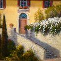 European Scenes - Tuscan Stairway 24x30 (Sold)